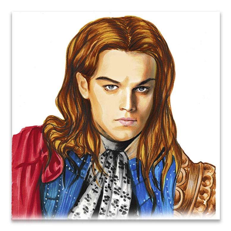 Leonardo DiCaprio by svetliaciok